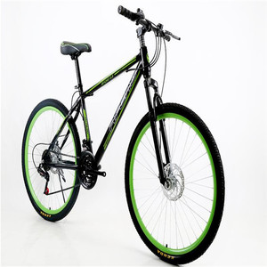 Factory 26 inch 21 speed cycling mountain bike , Hot style promotional mountain bicycle with double disc brake