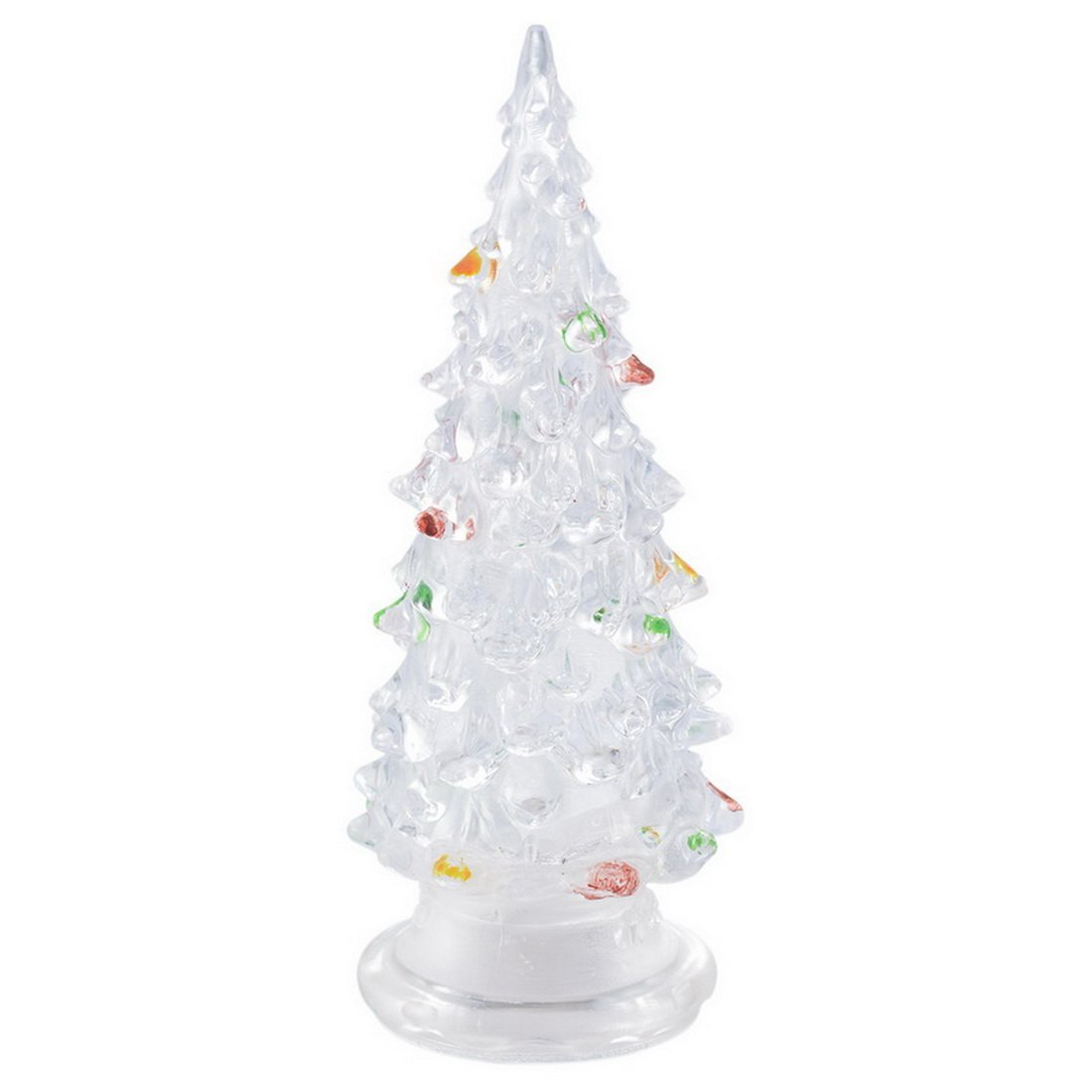 get quotations hoomall led lighted colorful christmas tree decorative light