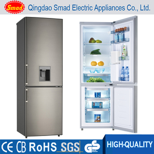 310L Double Door Refrigerator,Bottom Freezer Top Fridge With Water Dispenser