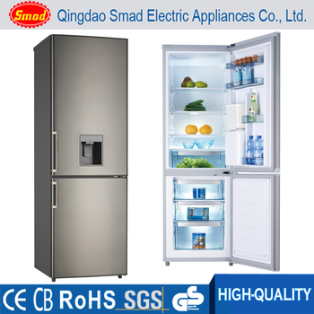 Bon 310L Double Door Refrigerator,Bottom Freezer Top Fridge With Water Dispenser