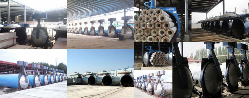Concrete machine manufacturers for AAC / ALC Lightweight Concrete
