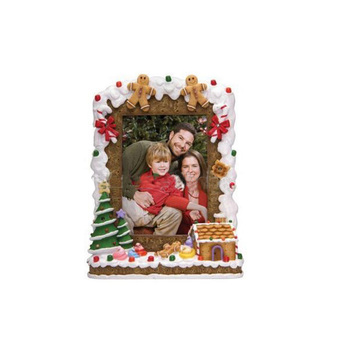 Light Up 4x6 Christmas Gingerbread Resin Picture Photo Frame Buy 4