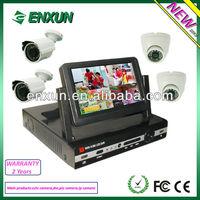 Digital Wireless CCTV Camera Kit Wireless Security Camera Systems with Quad DVR