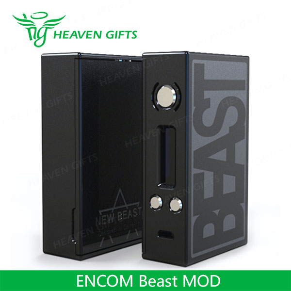 Small Size Dual 18650 Battery Compartment 75W ENCOM Beast BOX MOD