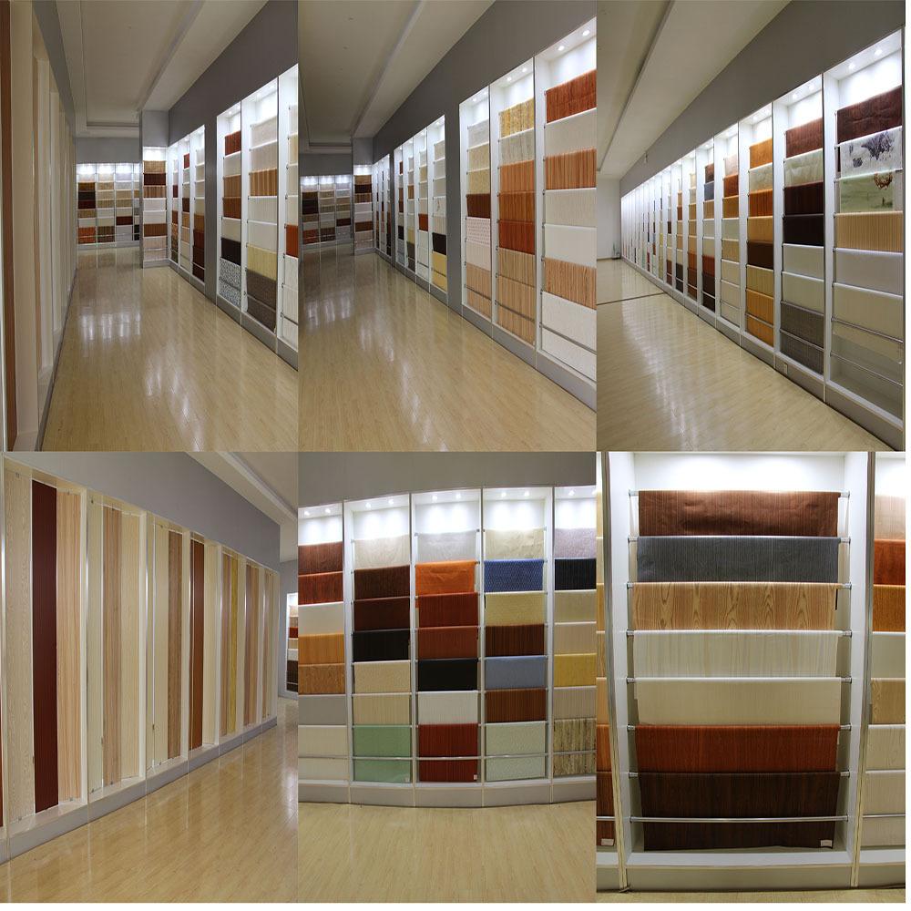 Wood Design Melamine Decorative Contact Paper For Hpl - Buy ...