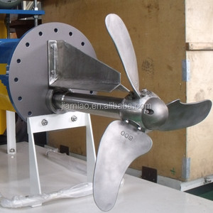 Stainless steel geared chest agitator mixer