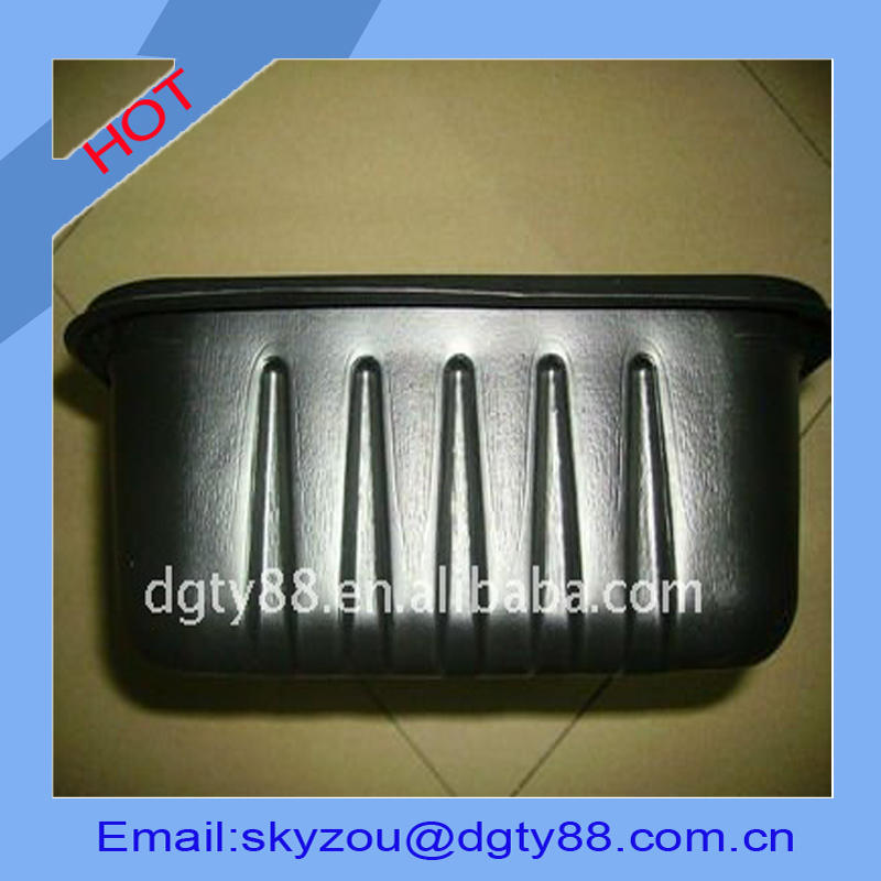 vacuum thermoformed thick large industrial plastic drip tray