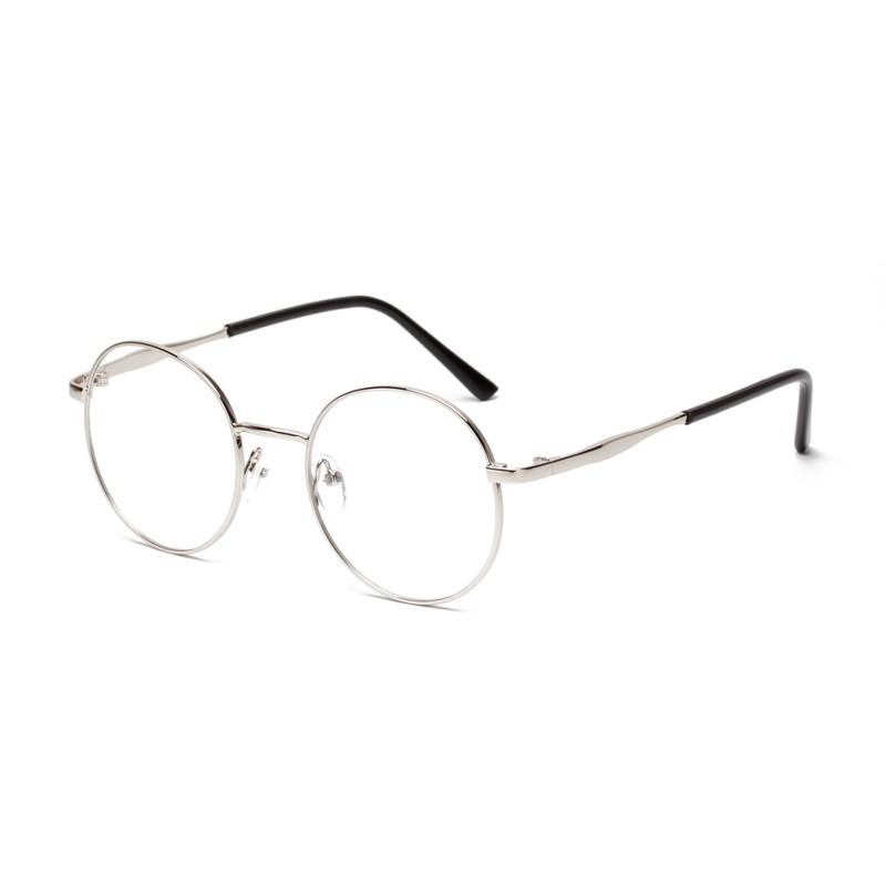 6afd8bde4c 2019 Wholesale Women S Metal Frame Eyewear Designer Nerd Geek Girls ...