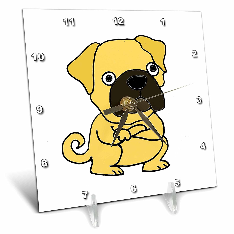 Marvelous Buy All Smiles Art Pets Funny Grumpy Pug Dog Cartoon 6X6 Download Free Architecture Designs Scobabritishbridgeorg