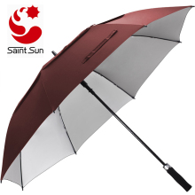 Classic & Uv Protection Best Custom Windproof Promotional Manual Golf Umbrellas Wholesale Large Size For 3 Persons
