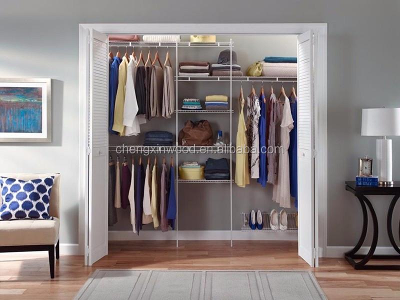 Hot Sell Mdf Particle Board Bedroom Wardrobe