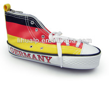 Germany flag shoe shape Pencil case