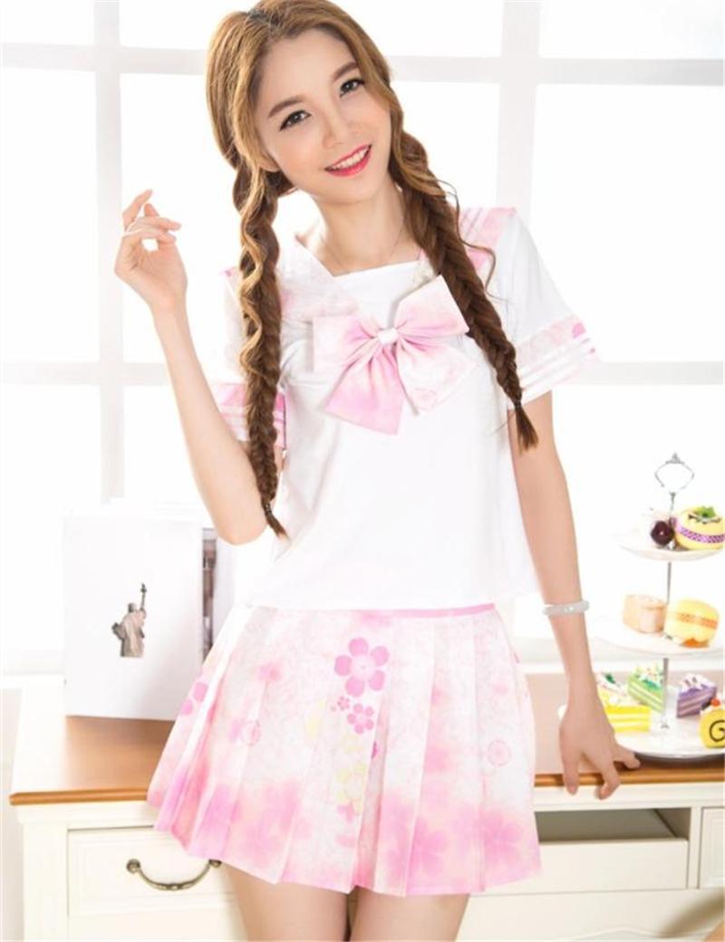 Sailor school girl costume-7008