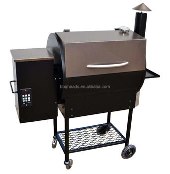 Outdoor Wood Pellet Smoke Bbq Grill Bbq07e