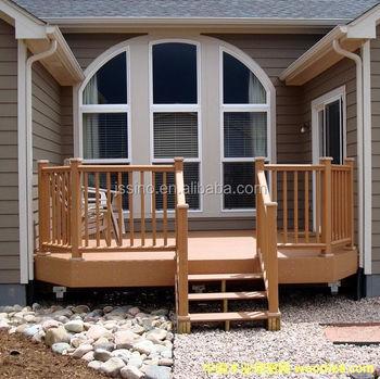 Ninguna pintura impermeable compuesto pl stico de madera for Escalera de madera al aire libre precio