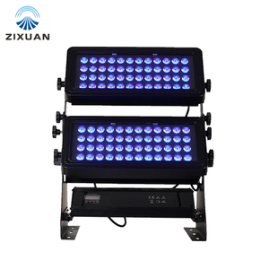 Outdoor city building colorful dmx led wall washer spot light RGBW 1000w waterproof flood light