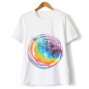 Custom Design Men's Direct to Garment Printing 100 Cotton T-shirt For High End Market