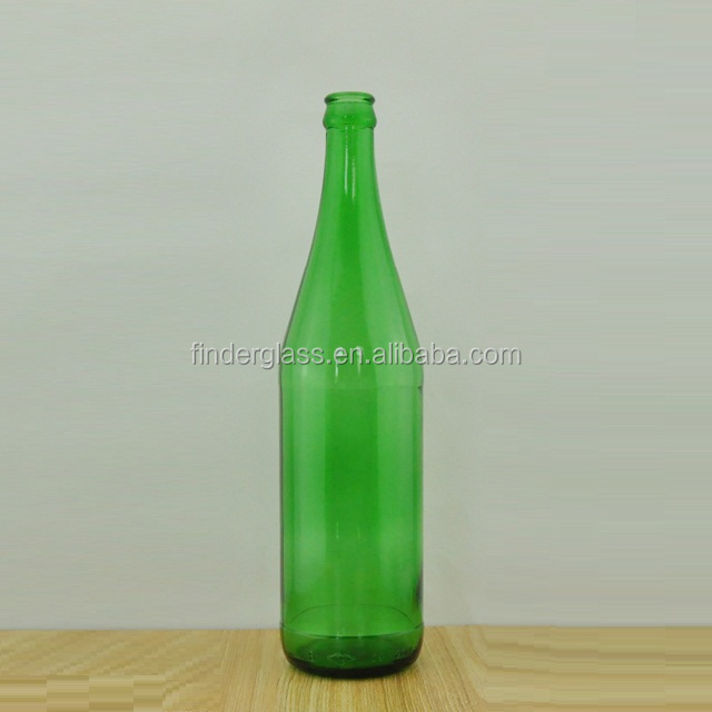 HOT SALE 640ml emerald green glass beer bottle for sale Empty Beer Bottles Wholesale