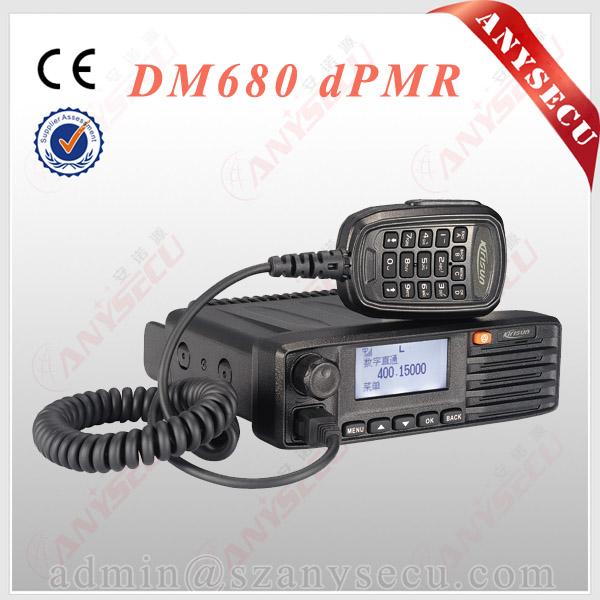 Police Scanner Radio Mobile Car Radio Kirisun Dm680 Supported Gps