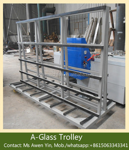HR2000*1200 Glass Trolley/A-Glass Rack /Insulating Glass Processing Machine