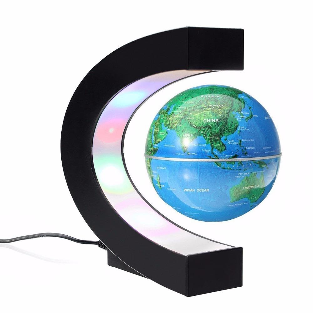 DONWEI Levitação Magnética Globo Antigravidade LED Night