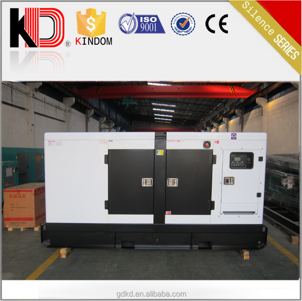 80kw silent canopy power generation 100 kva anti noise genset price 100kva soundproof generator