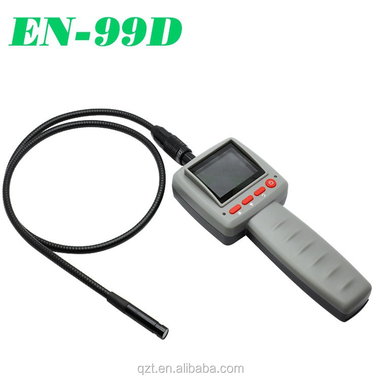 1M USB snake tube waterproof 10mm lens camera handheld industrail video inspection endoscope
