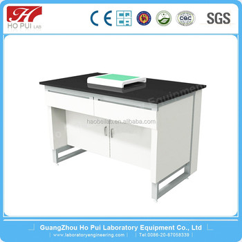 Laboratory Furniture Shock Absorption Class Hundred Thousand Lab Balance  Marble Table