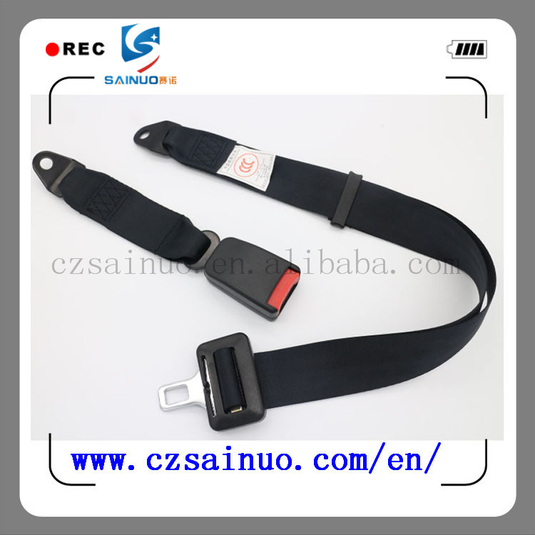 High quality European standard car back row seat belt manufacturer