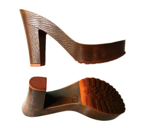 Custom wood clog soles sandal shoe soles ladies high heel soles