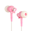 Shenzhen original factory princess crown diamond earphone with pink color