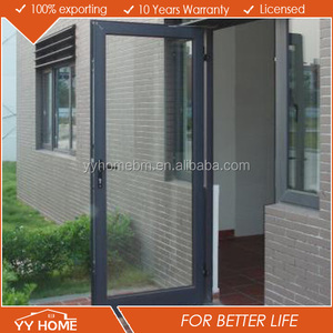 YY Home Australian Standards AS2047 grill design double glazed ecological glass door