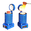 4kg Small Portable Metal Casting Machinery for Melting Jewelry Casting
