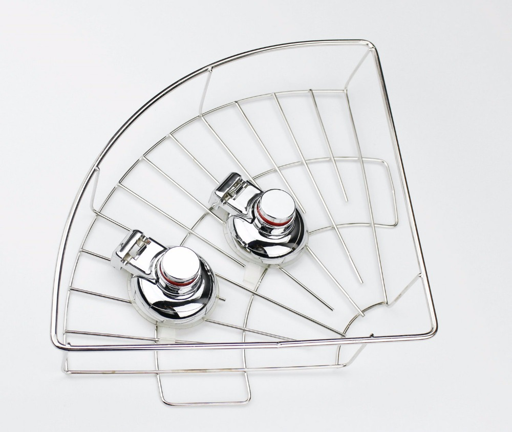 Hot sell Shower Caddy With Vacuum Suction cup for <strong>Bathroom</strong> Hanging <strong>bathroom</strong> kitchen <strong>storage</strong> <strong>baskets</strong>