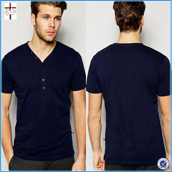 New 2016 Fancy Design Men T-shirt With V-neckline Bottom Design ...