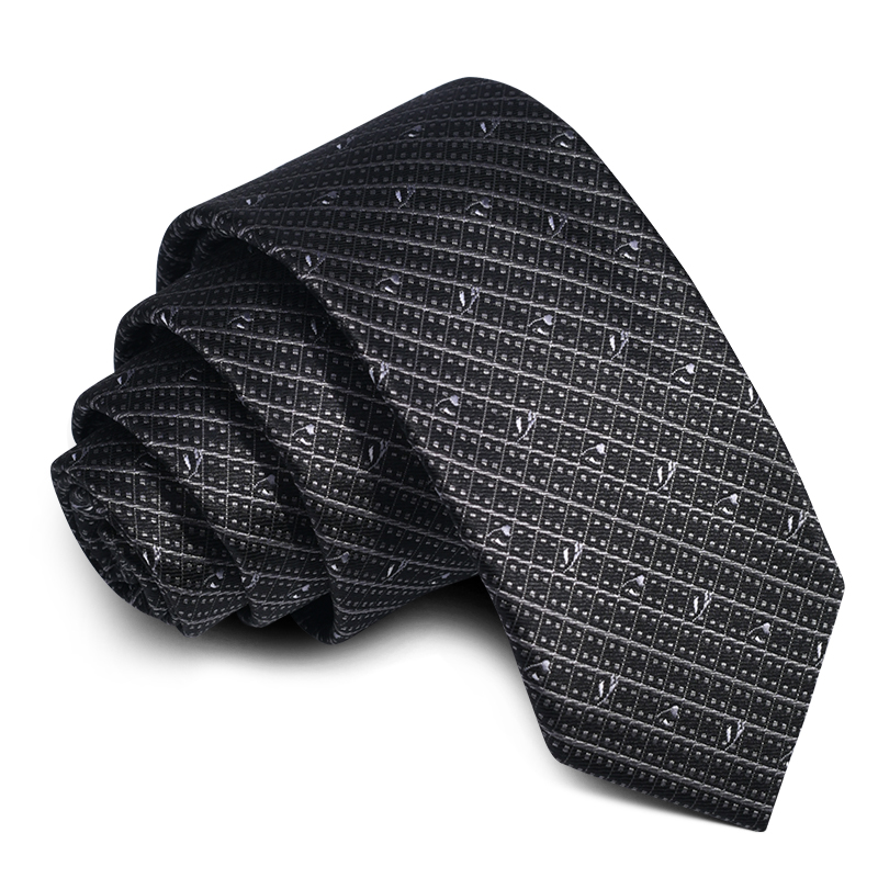 High Quality Grey Striped Fashion Logo Silk <strong>Ties</strong> With Men Custom