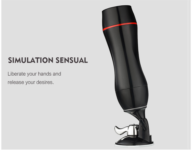 New designing 180 degree rotation hands free masturbator magic ring sex toys