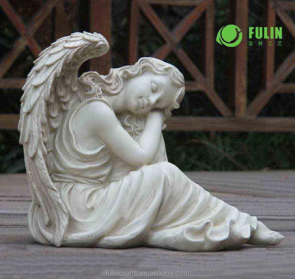 r sine vie taille ange jardin statue statues id de produit 2022656328. Black Bedroom Furniture Sets. Home Design Ideas