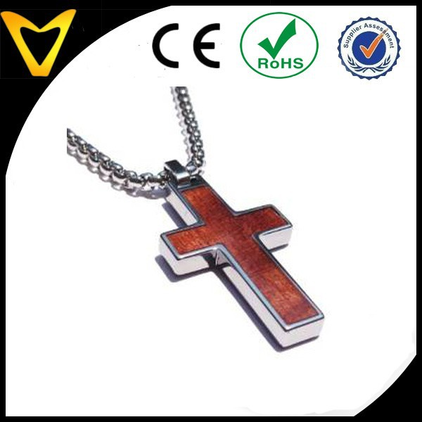 Vtp 5020 vlink jewelry tungsten cross pendant 4mm wide surgical vtp 5020 vlink jewelry tungsten cross pendant 4mm wide surgical stainless steel box chain wood inlay buy wood inlay cross pendantwood cross pendant aloadofball Image collections