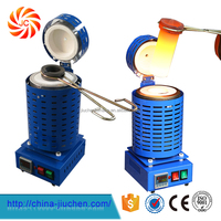 JC-K-220-2 Advanced Mini Electric Furnace for Gold Melting