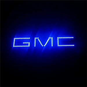for GMC car logo DC12v Hot Sale 7000k led Halo Rings Colorful CCFL Angel Eyes for all cars