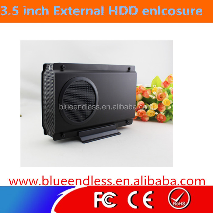 "Blueendless BS-U35sGA 3.5 Inch Hard Drive External CaseSupports 3.5"" SATA HDD Up to 2TB 3.5""hdd enclosure"