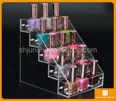 nail polish acrylic counter top display stand