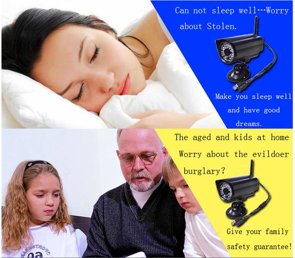 Auto Digital Gsm Gprs Cctv Camera Security Alarm System With Free ...