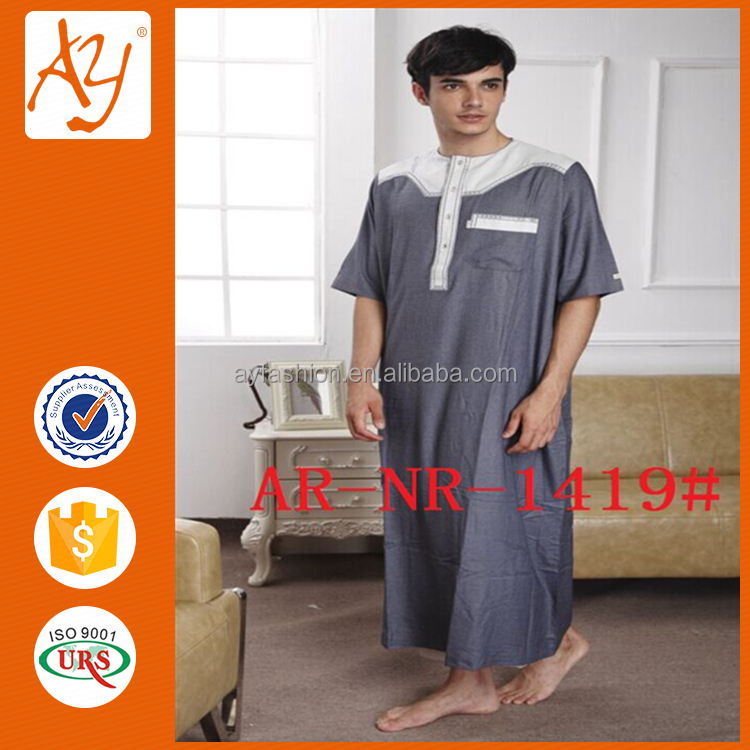 Hot sale suit design islamic muslim clothing arabic thobe/jubba for men