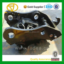 JCB js300 hydraulic quick coupler JCB js300 hydraulic quick hitch for jcb js300 excavator attachment