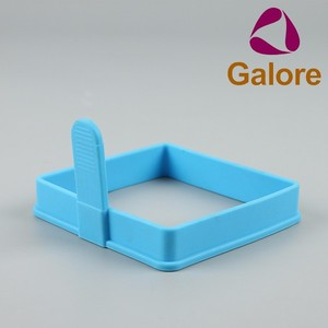 Silicone Chainsaw Cake Mold Pan DIY Shaped Egg Rings Rectangle
