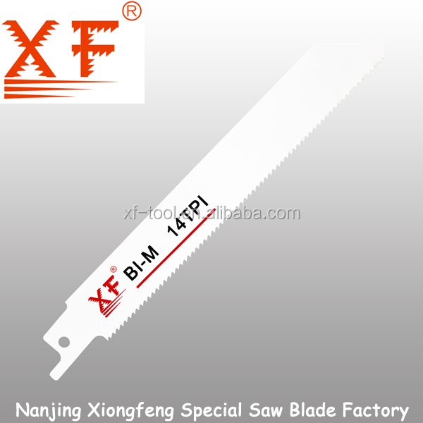150mm cutting metal XF-S922BF ISO9001 Reciprocating Saw Blade