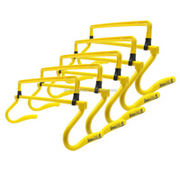 Adjustable 4 Height Speed Agility Hurdles For Soccer Football training