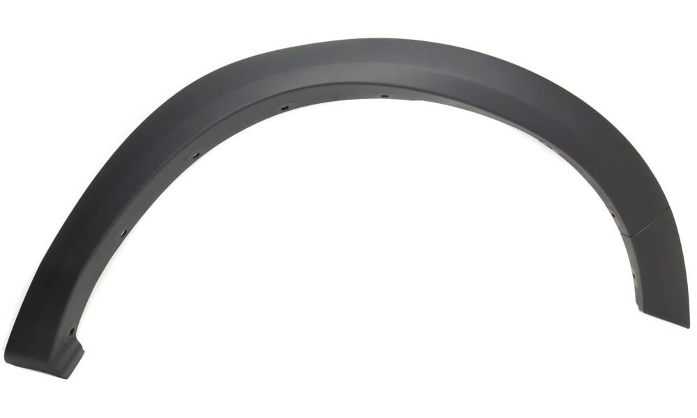 Evan-Fischer EVA216121015320 Fender Flare for 2009-2010 Dodge Ram 1500 Front Right Side Thermoplastic Textured Black Replaces Partslink Number CH1291107